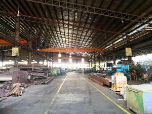 Johor Factory Malaysia Industry senai-factory-for-sell-ptr-126-overhead-crane-2-300x225 Senai Open Shade Factory with 6 units Overhead Crane (PTR-126)