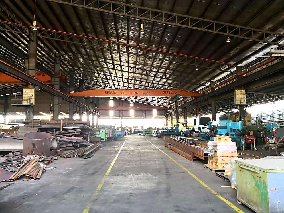 Johor Factory Malaysia Industry senai-factory-for-sell-ptr-126-overhead-crane-2 Senai Factory For Sell and Rent (PTR-126)