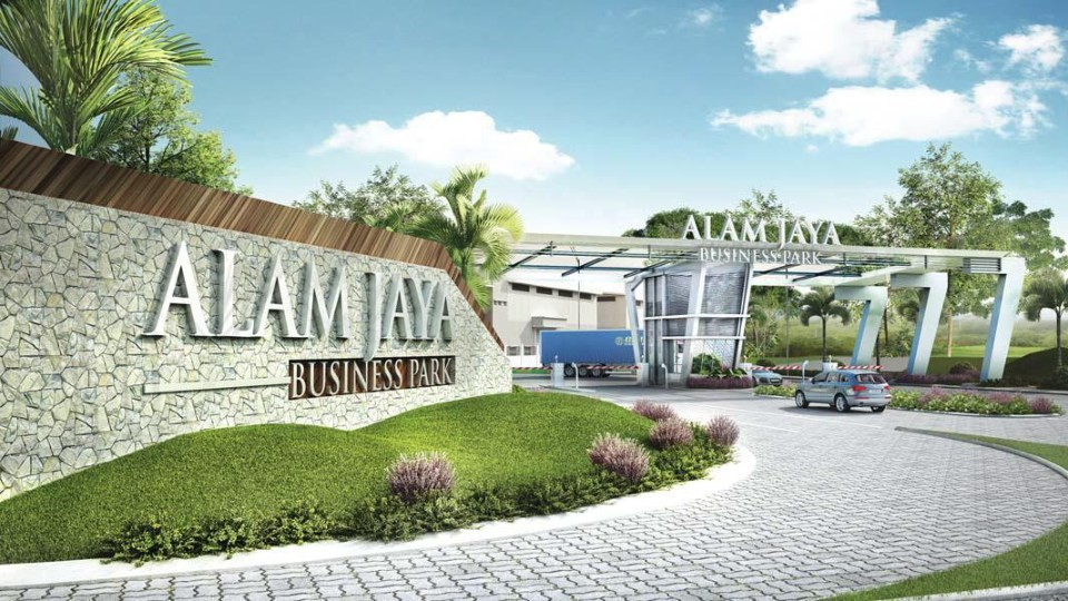 Johor Factory Malaysia Industry Alam-Jaya-Business-Park 主页 Home