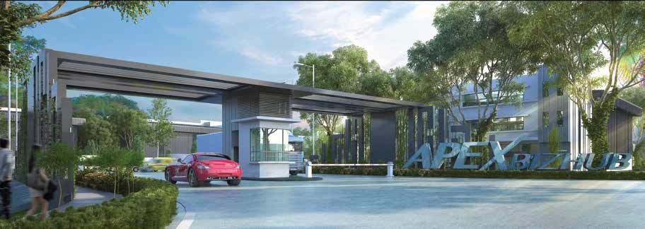 Johor Factory Malaysia Industry Apex-BizHub 主页 Home
