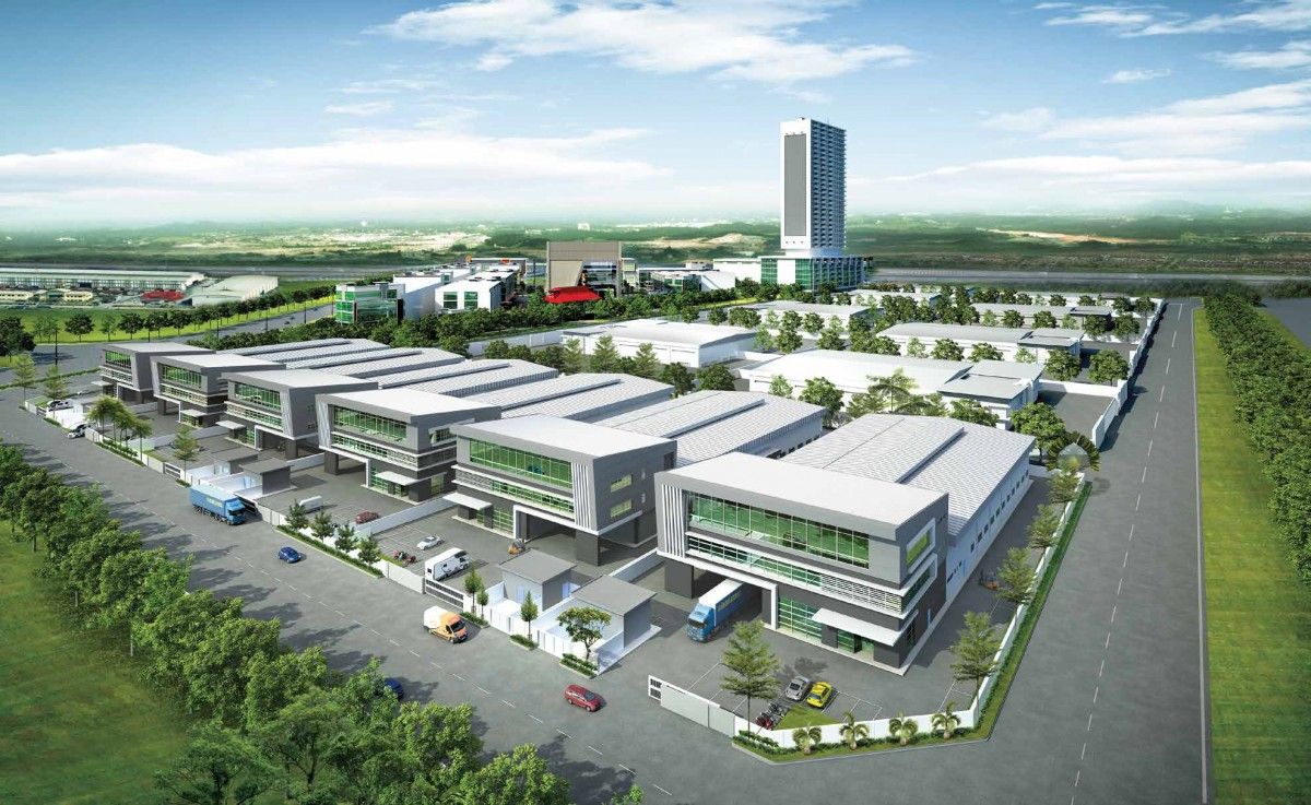 Johor Factory Malaysia Industry District-6-@-SILC 主页 Home