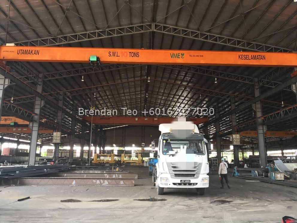 Johor Factory Malaysia Industry IMG-20200701-WA0087_mh1593612141931 Senai Area Medium Industry Detached Factory with 6 units Overhead Crane For Sale (PTR-127)