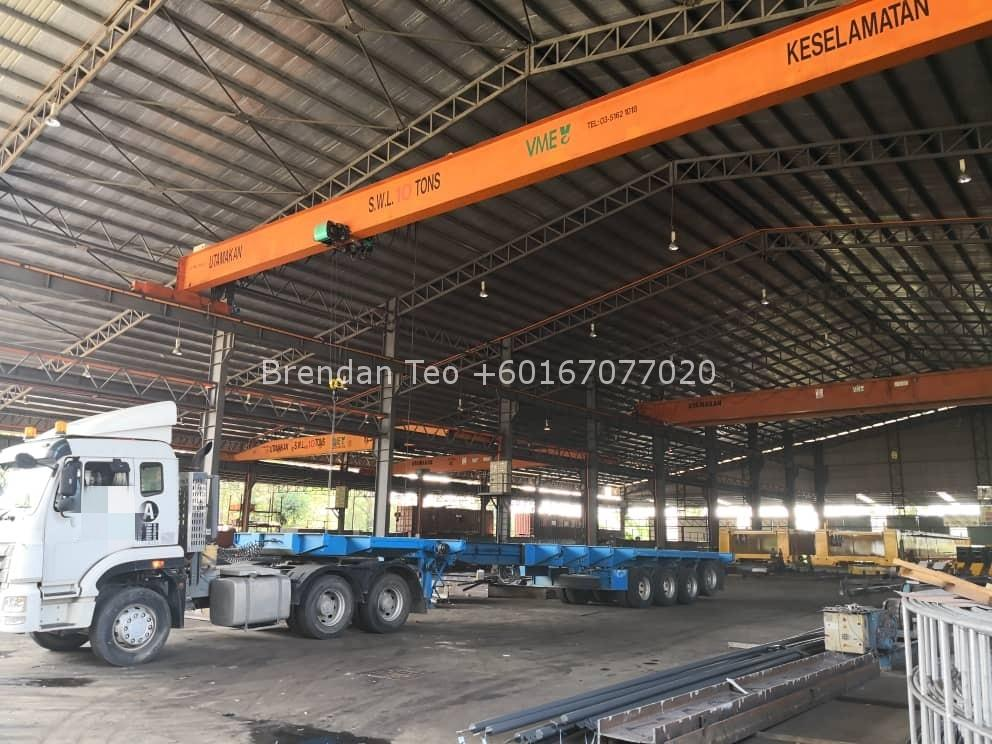 Johor Factory Malaysia Industry IMG-20200701-WA0088_mh1593612168043 Senai Area Medium Industry Detached Factory with 6 units Overhead Crane For Sale (PTR-127)
