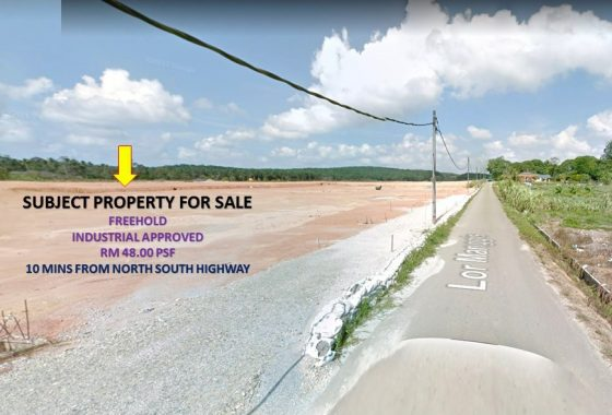 Johor Factory Malaysia Industry Johor-Factory-LAND-for-sell-PTR-4-560x380 土地 Land