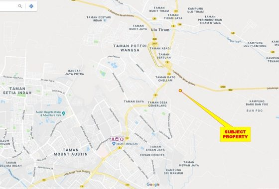 Johor Factory Malaysia Industry desa-cemerlang-land-for-sell-PTR-29-location-map-560x380 Desa Cemerlang Land For Sell (PTR Land 29)