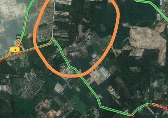Johor Factory Malaysia Industry ulu-choh-land-for-sell-PTR-25-location-map-540x380 土地 Land