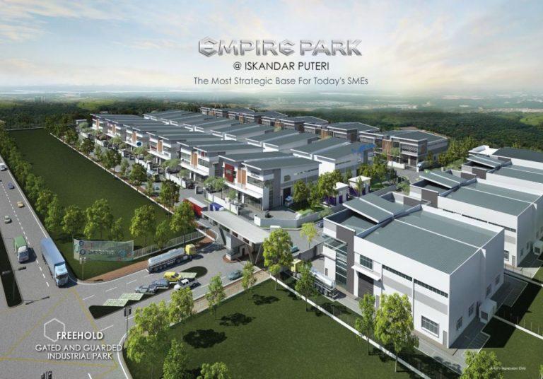 Johor Factory Malaysia Industry Empire-Park-Iskandar-Puteri-3-768x536 Empire Park @ Iskandar Puteri