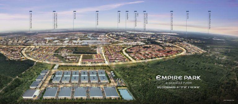 Johor Factory Malaysia Industry Empire-Park-Iskandar-Puteri-9-768x335 Empire Park @ Iskandar Puteri