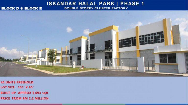 Johor Factory Malaysia Industry Iskandar-Halal-Park-10-768x432 Iskandar Halal Park
