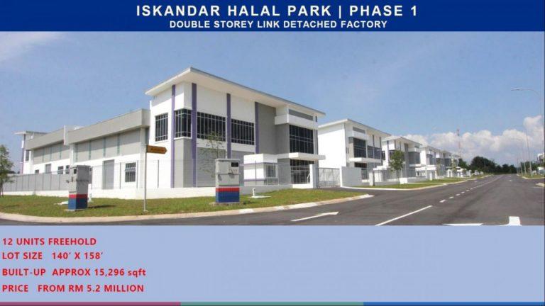 Johor Factory Malaysia Industry Iskandar-Halal-Park-11-768x432 Iskandar Halal Park