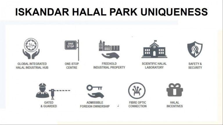 Johor Factory Malaysia Industry Iskandar-Halal-Park-5-768x432 Iskandar Halal Park