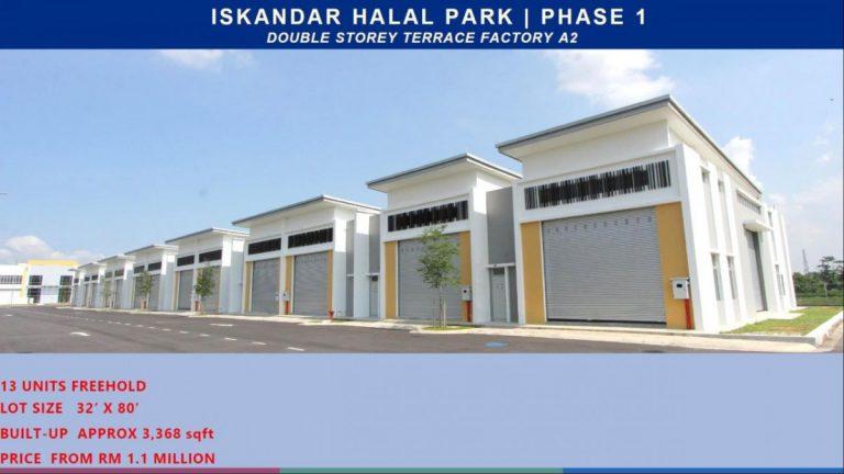 Johor Factory Malaysia Industry Iskandar-Halal-Park-9-768x432 Iskandar Halal Park