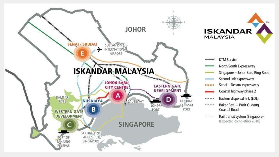 Johor Factory Malaysia Industry Iskandar-Malaysia-Highlights 主页 Home