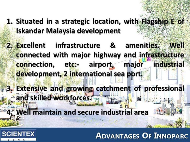 Johor Factory Malaysia Industry innoparc-senai-johor-factory-2-768x576 InnoParc @ Scientex Senai