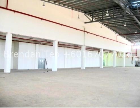 Johor Factory Malaysia Industry 20190808_191050 Medium Ind. Factory at Senai with HT Power, Extra Land & Dock Leveler (PTR149)