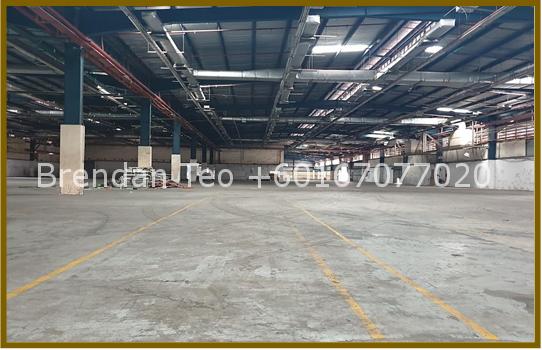 Johor Factory Malaysia Industry ptr-291 BT - PTR 29 (JOHOR BAHRU) – 110K BUA for rent