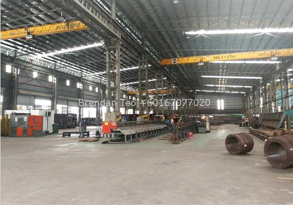 Johor Factory Malaysia Industry listing-1 Desa Cemerlang, Medium Ind. Factory with Overhead Crane & 1000 Amp For Rent(PTR137)