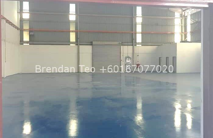 Johor Factory Malaysia Industry 2-4 PTR 172 - factory at tampoi for rent (12k bua) EXTERNAL