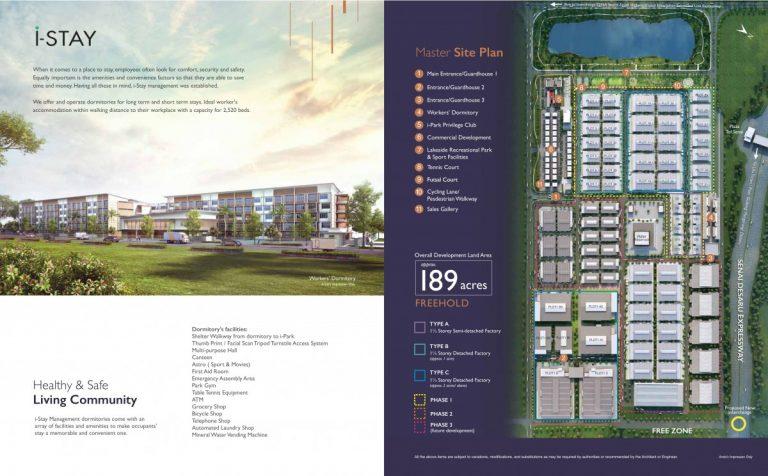 Johor Factory Malaysia Industry i-Park-SAC-e-brochure-10-768x476 i-Park @ Senai Airport City