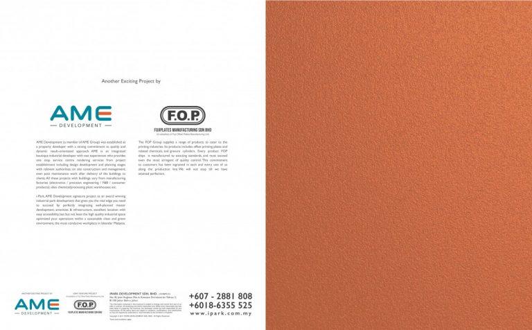 Johor Factory Malaysia Industry i-Park-SAC-e-brochure-11-768x476 i-Park @ Senai Airport City