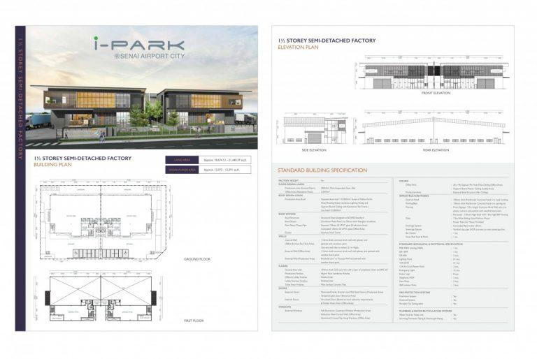 Johor Factory Malaysia Industry i-Park-SAC-e-brochure-12-768x514 i-Park @ Senai Airport City