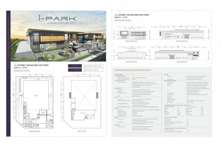 Johor Factory Malaysia Industry i-Park-SAC-e-brochure-13-768x514 i-Park @ Senai Airport City