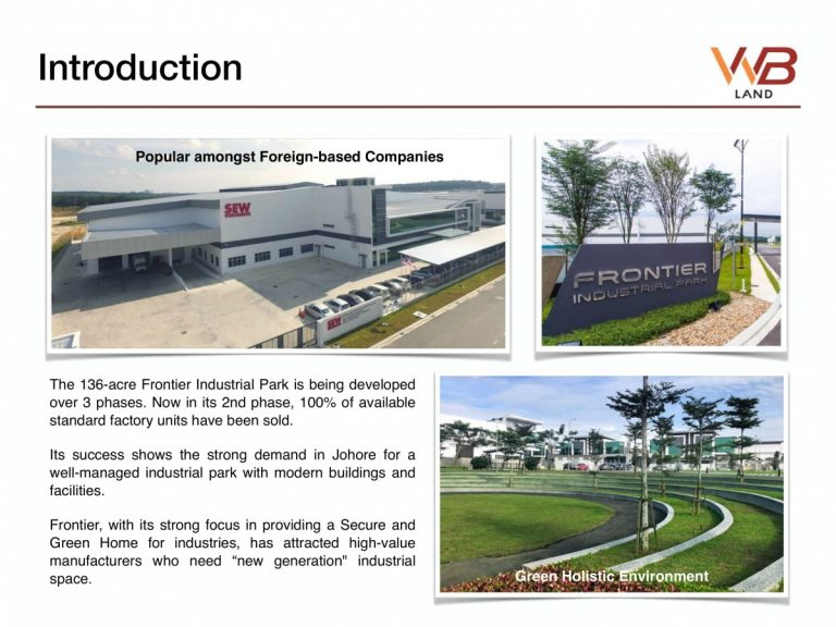 Johor Factory Malaysia Industry 20200113-Frontier-Park-02-768x576 Frontier Park Business Campus