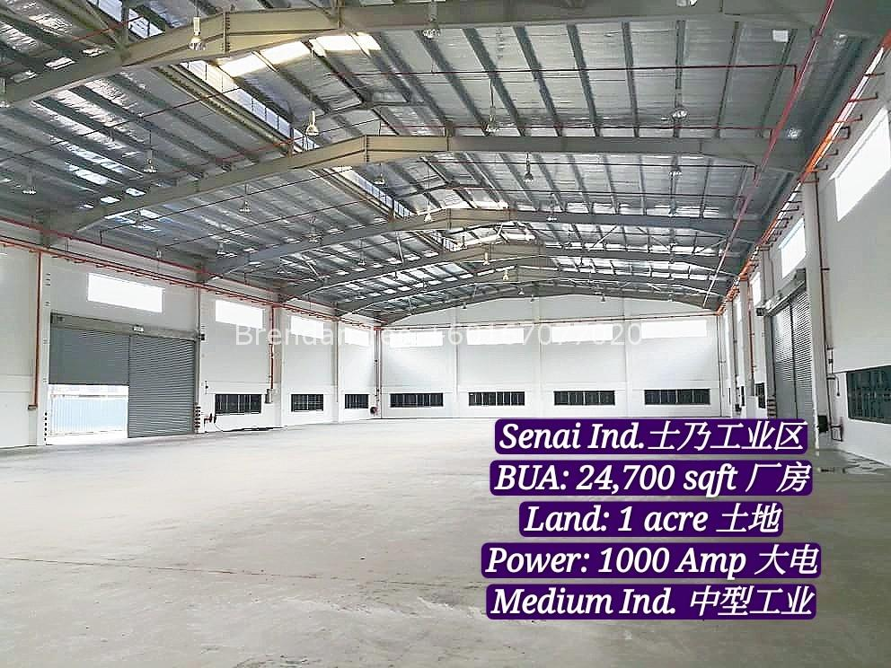 Johor Factory Malaysia Industry IMG-20200528-WA0031_mh1590665853379 Medium Ind. Factory with 1000 Amp at Senai Ind. Park For Rent (BT-PTR41)