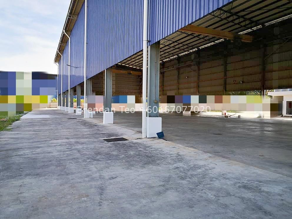Johor Factory Malaysia Industry IMG-20200609-WA0021_mh1591770040198 Gelang Patah Open Shed Factory with Overhead Crane & Extra Land For Rent