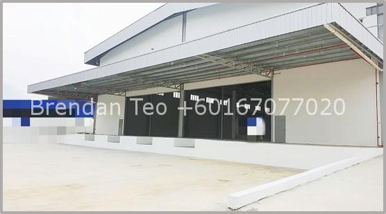 Johor Factory Malaysia Industry Picture1 Senai Area Freehold Detached Factory with 12 meter Height, 6.5 acres Land, Loading Bay and Overhead Crane Runway For Rent (BT-PTR43)