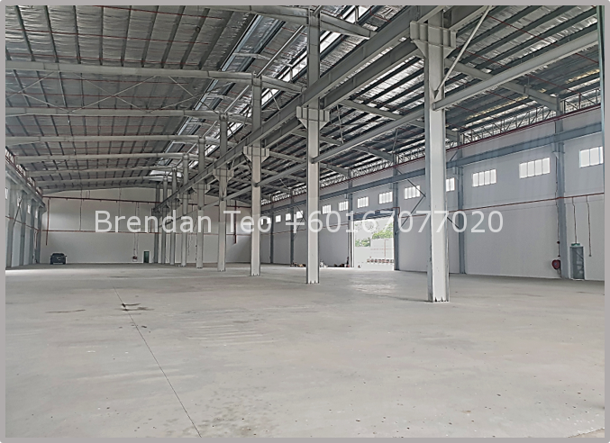 Johor Factory Malaysia Industry Picture4 Senai Area Freehold Detached Factory with 12 meter Height, 6.5 acres Land, Loading Bay and Overhead Crane Runway For Rent (BT-PTR43)