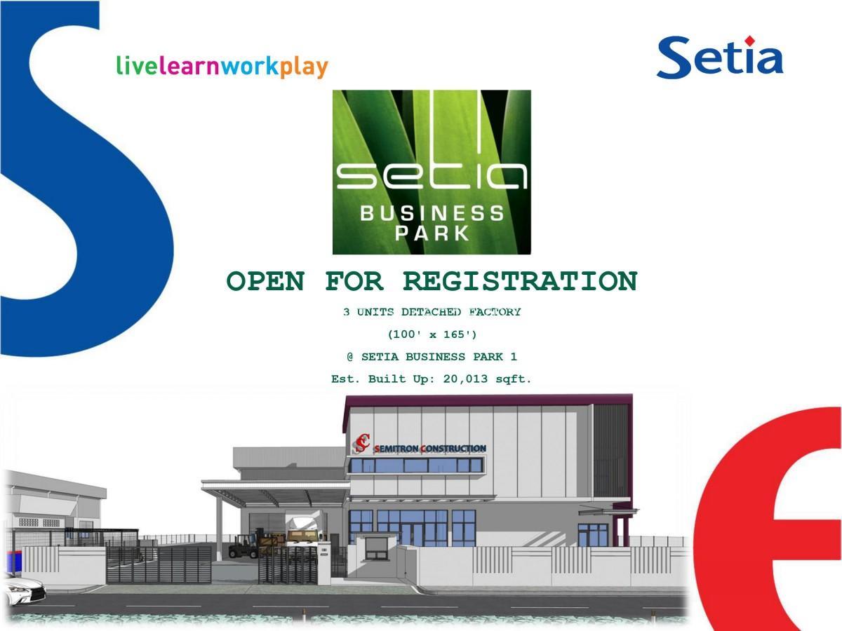 Johor Factory Malaysia Industry 0001 Setia Business Park