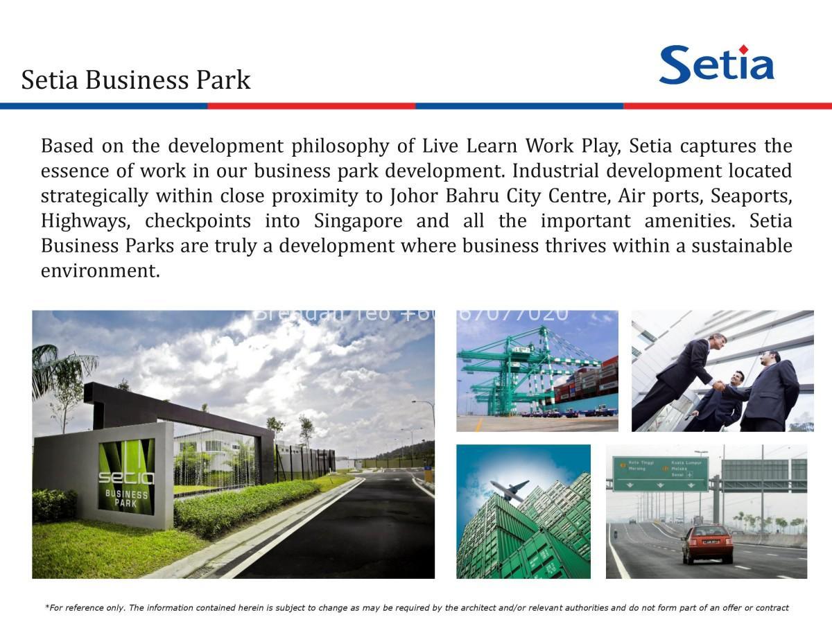 Johor Factory Malaysia Industry 0002 Setia Business Park