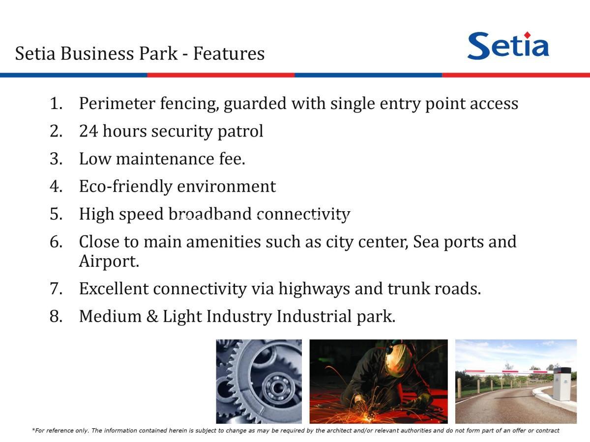 Johor Factory Malaysia Industry 0004 Setia Business Park