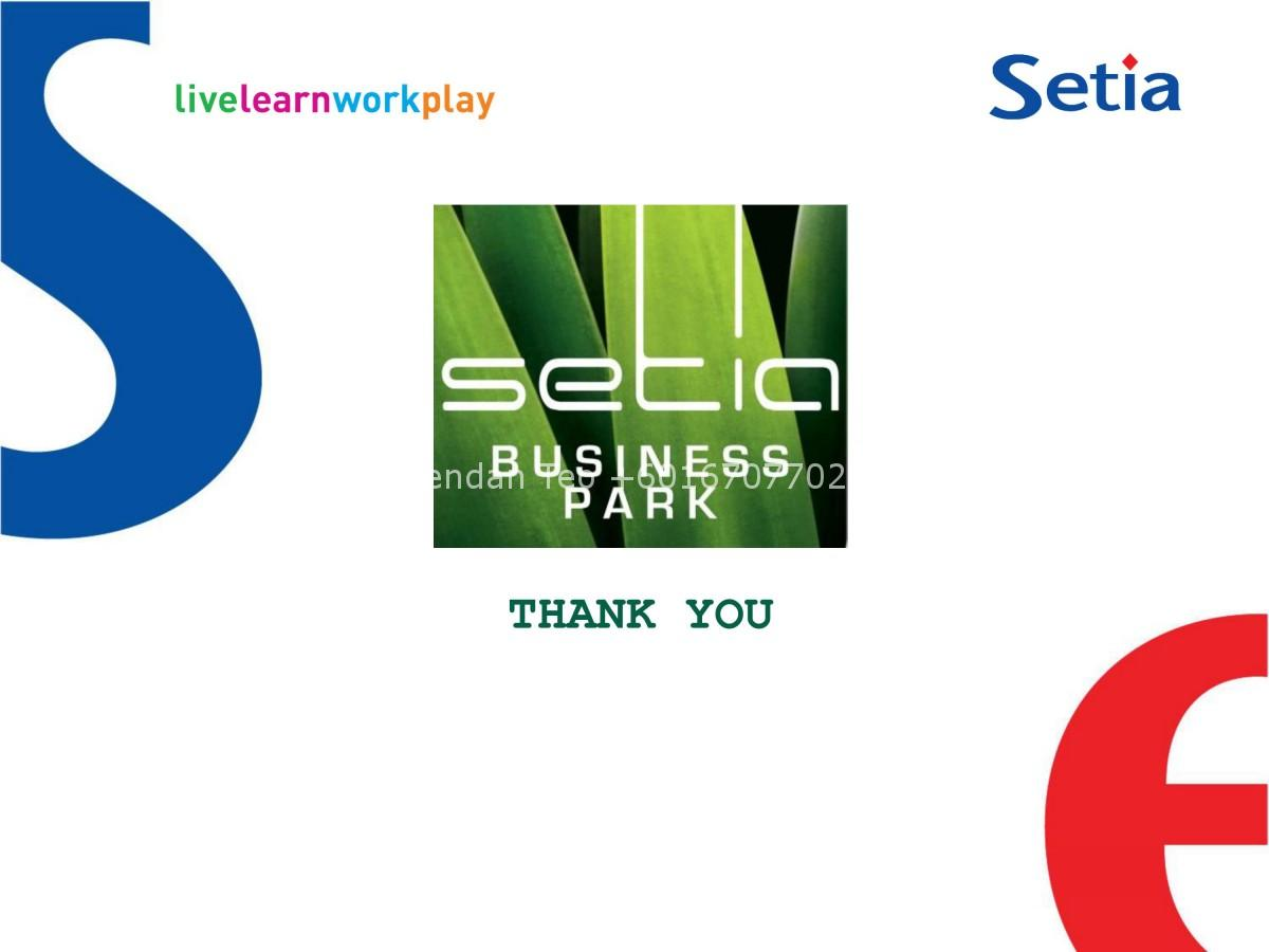 Johor Factory Malaysia Industry 0014 Setia Business Park