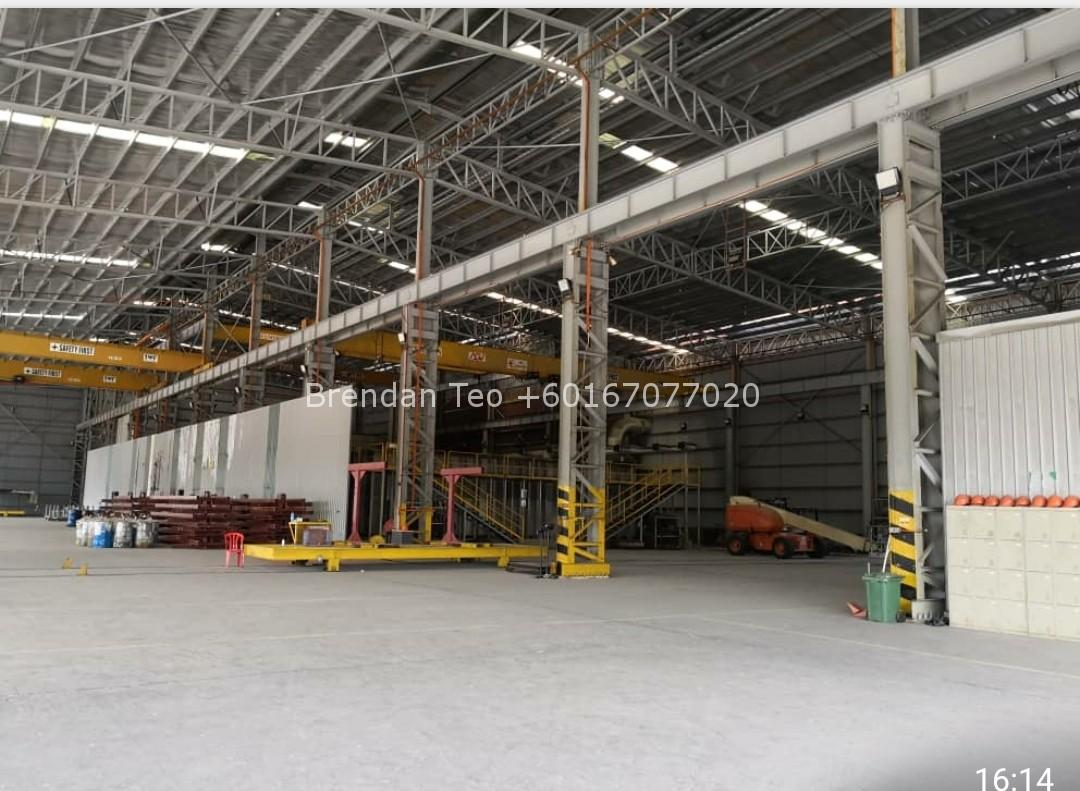 Johor Factory Malaysia Industry tempFileForShare_20200725-162744 Pasir Gudang Detached Factory with Overhead Crane and 1000 amp For Sell(BT-PTR46)