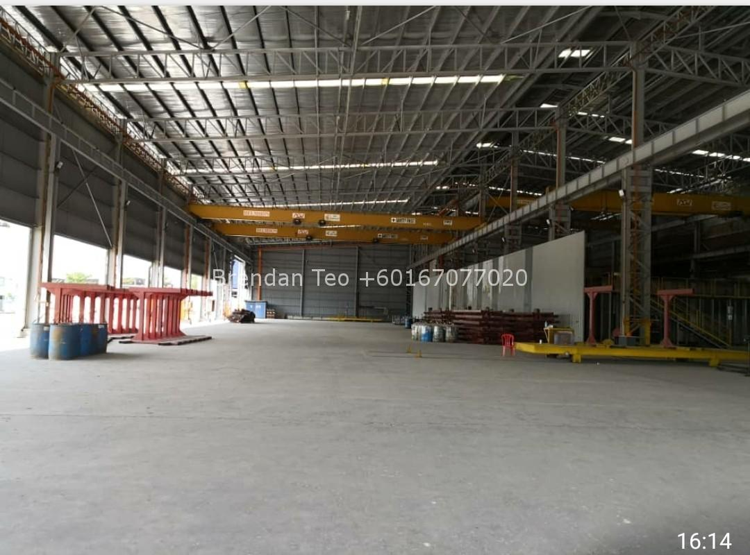 Johor Factory Malaysia Industry tempFileForShare_20200725-164104 Pasir Gudang Detached Factory with Overhead Crane and 1000 amp For Sell(BT-PTR46)